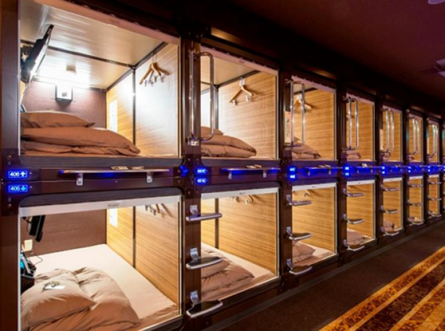 """A """"capsule"""" room in Japan can be paid for with bitcoins"""
