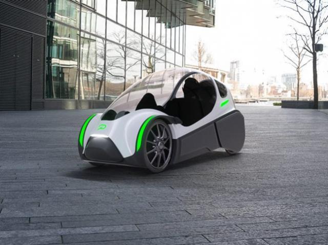 New dual-motor velomobile created in Norway