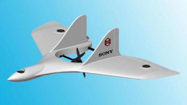 Новый дрон от Sony: вертолет + самолет