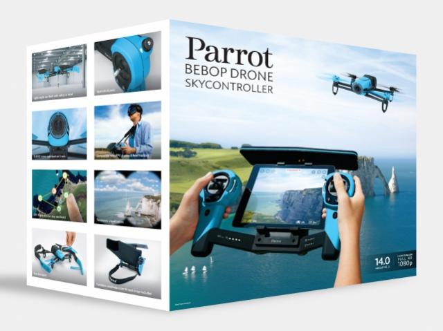Новый дрон Parrot Bebop для любителей управлять полетом