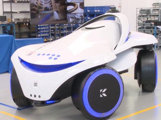 Новый робот-охранник Knightscope K7 способен двигаться боком
