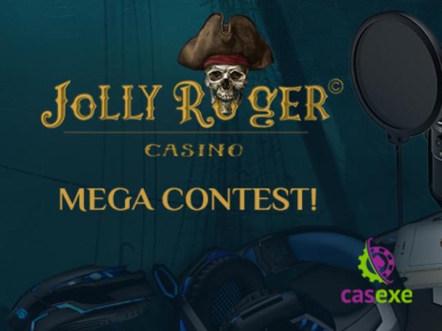 Новое казино от CASEXE - Jolly Roger - запускает два потрясающих конкурса