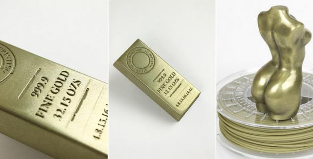 Новое волокно brassFill - ярче золота!