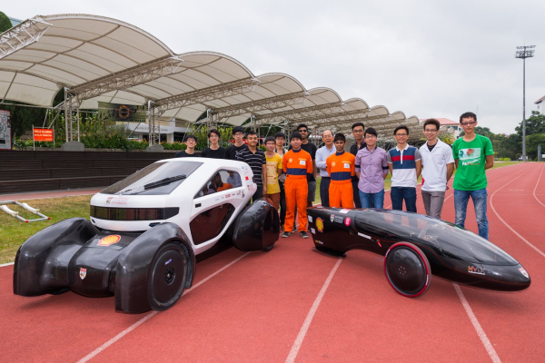 НТУ продемонстрировал первый в мире 3D-печатный электрический автомобиль для города