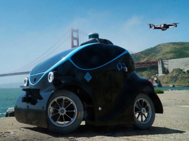 O-R3 – перший безпілотний автомобіль-дрон