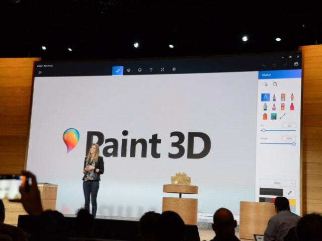 Обновлённый Paint позволит рисовать объекты для 3D-печати