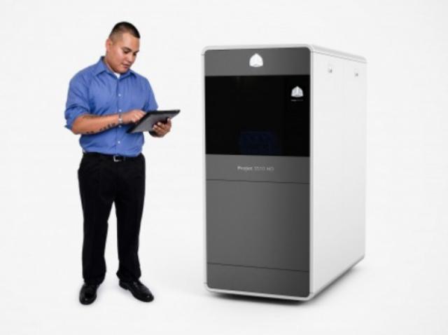 Обзор принтера 3D Systems ProJet 3510 HD