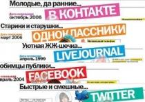Обзор самых популярных социальных сетей Рунета