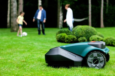 They are mowing and you are relaxing! Meet Robomow mower