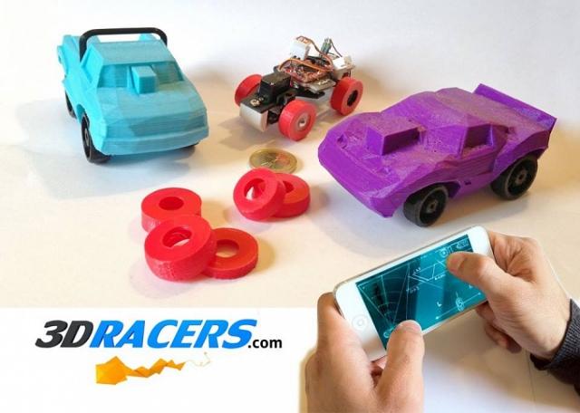Онлайн редактор радиоуправляемых машинок от 3DRacers