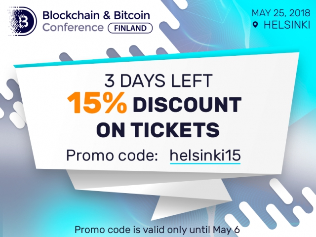 Only until May 6: 15% discount on every ticket