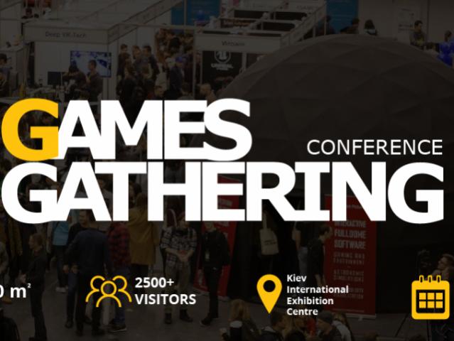 Розпочалася реєстрація на конференцію Games Gathering 2018