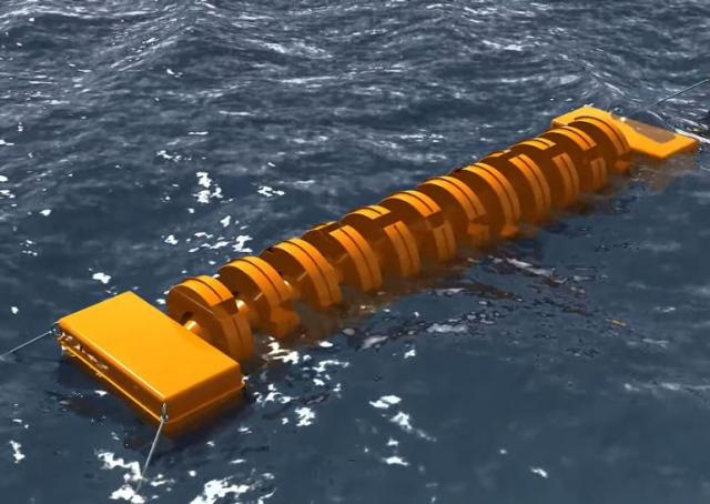 Парень из Днепропетровска изобрёл способ получать из морских волн электричество и питьевую воду