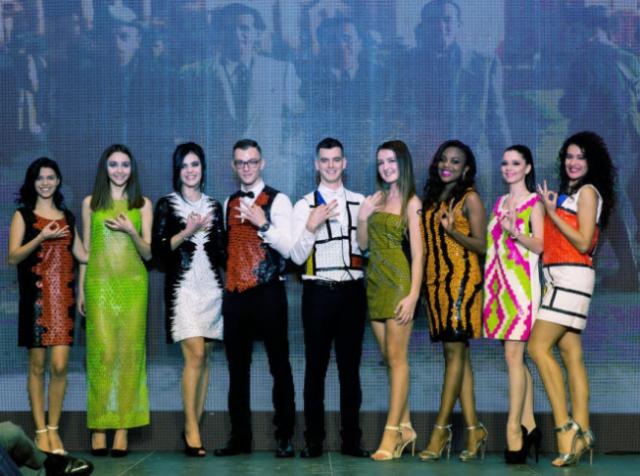 Первая балканская коллекция мод, полностью напечатанная на 3D-принтере, взорвала подиум на «Мисс Мира 2016»