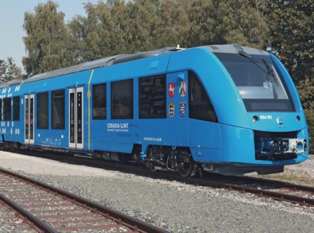Перший пасажирський водневий потяг презентували в Берліні