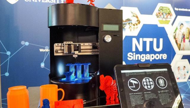 Первый портативный 3D-принтер-сканер был представлен в Сингапуре