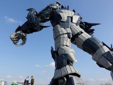 Первый тематический VR-парк Guiyang вмещает 35 аттракционов
