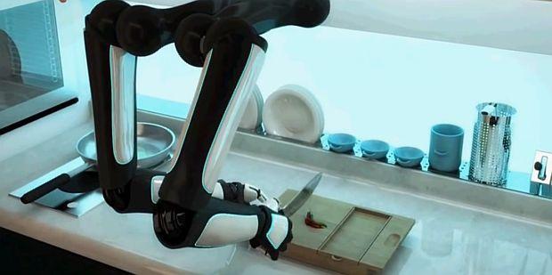 Первый в мире робот шеф-повар!