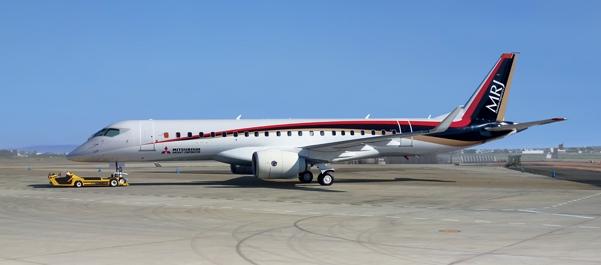 Первый японский реактивный пассажирский самолет прошел испытания