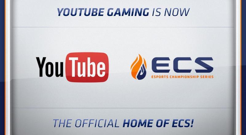 Площадка YouTube приобрела эксклюзивные права на показ чемпионатов ECS