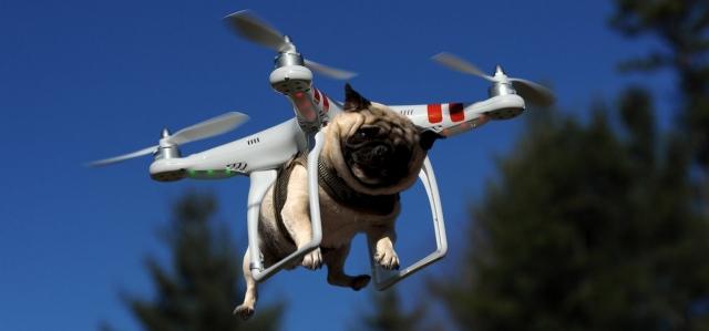 Почему дроны в США не могут доставлять товары
