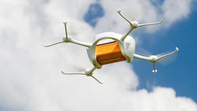 Почтовые дроны будущего