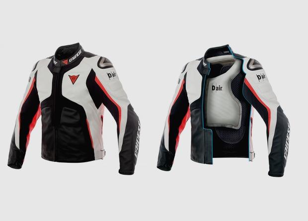 Подушку безопасности встроили прямо в мотоциклетную куртку