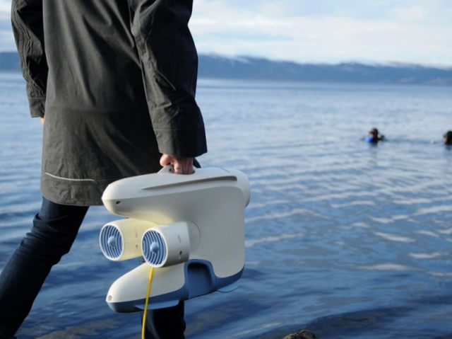 Underwater drone Blueye Pioneer explores water bodies at record depths
