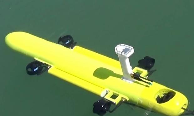Подводный робот для уничтожения морских звезд