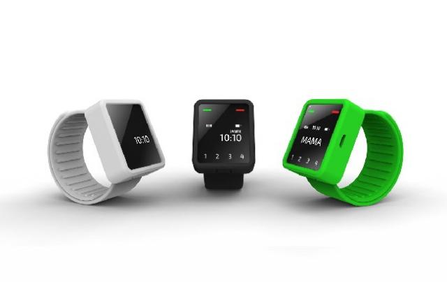 Польские разработчики создали уникальный наручный мобильный телефон-часы