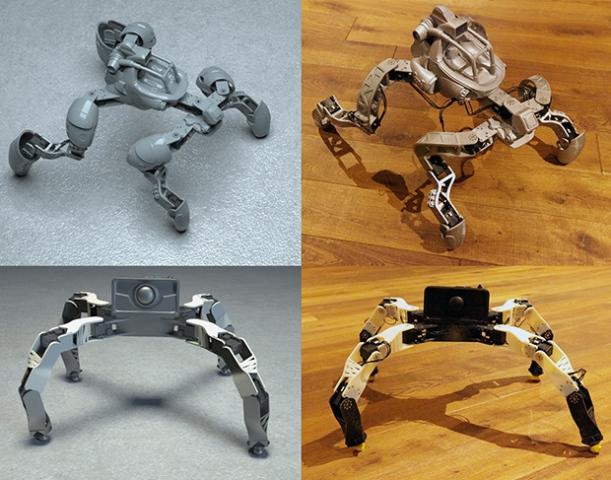 Полуавтоматическое проектирование роботов от Disney