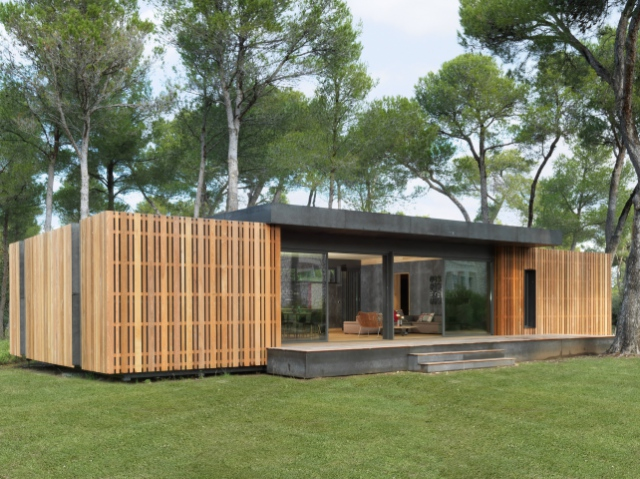 Pop-Up House: пасивний будинок, який будують за 4 дні