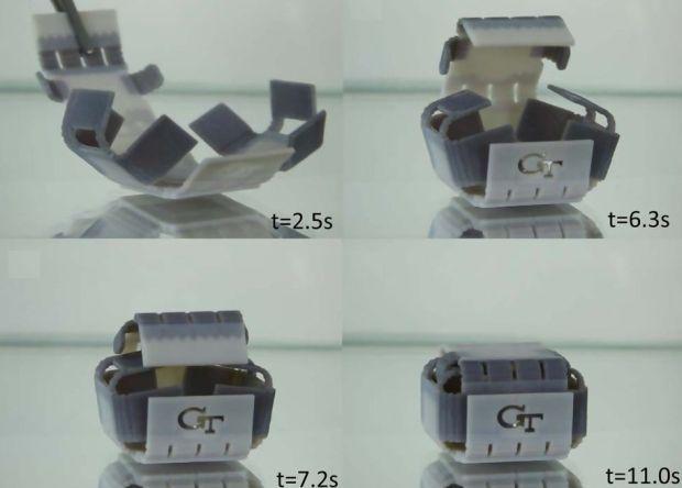 Поведение напечатанных объектов теперь программируется 3D-принтером