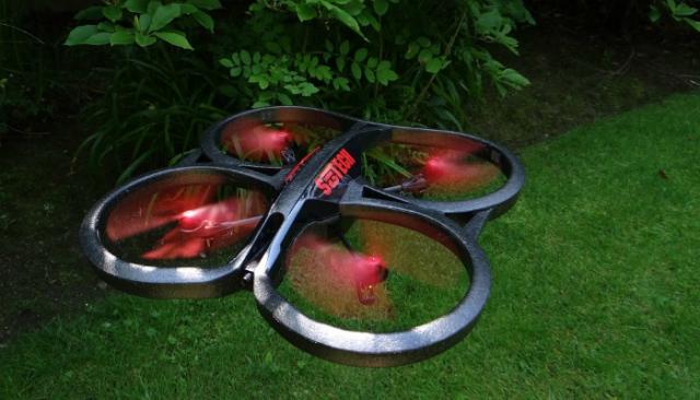 Представлен первый отечественный дрон