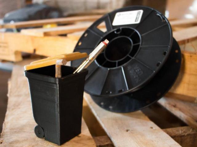 Представлен водорастворимый филамент HydroSupport для вспомогательных материалов в 3D-печатных объектах
