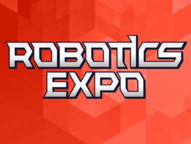 President of Russian association of educational robotics on Robotics Expo 2013