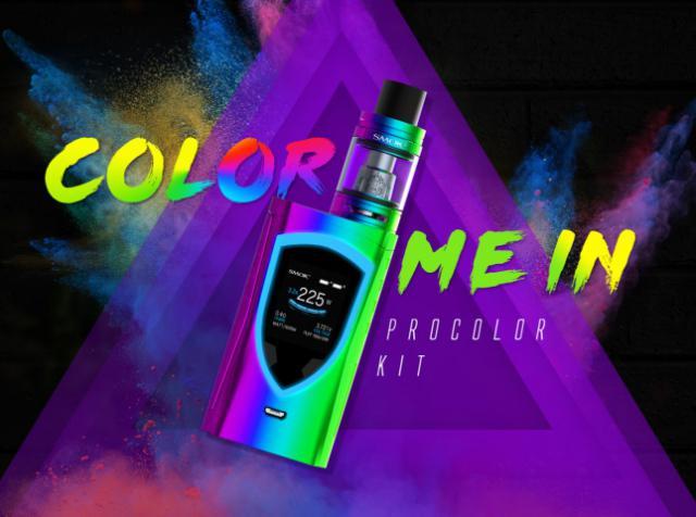 Procolor от SMOKTECH: 12 цветов мода