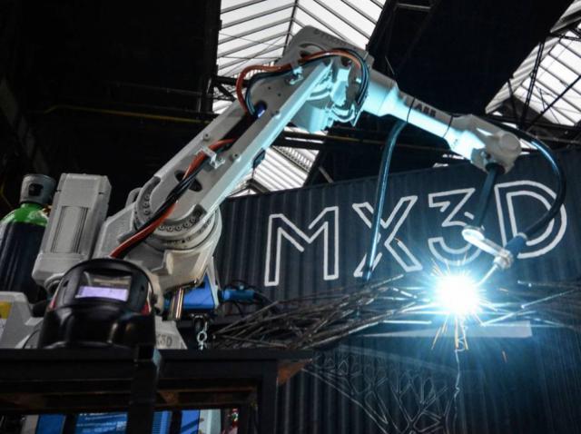 Проектом 3D-печатного моста занялась компания MX3D
