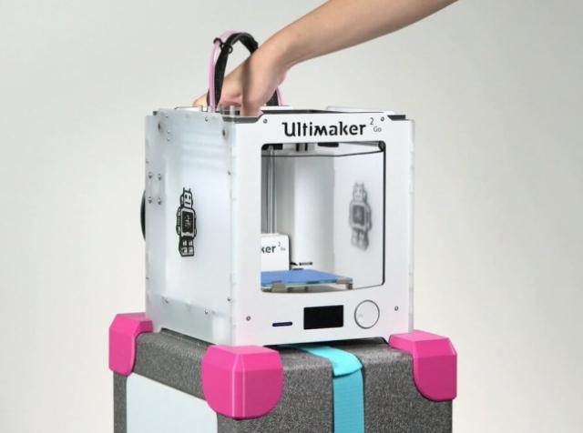 Производители 3D-принтера Ultimaker 2 Go выпустили аксессуары для его перемещения