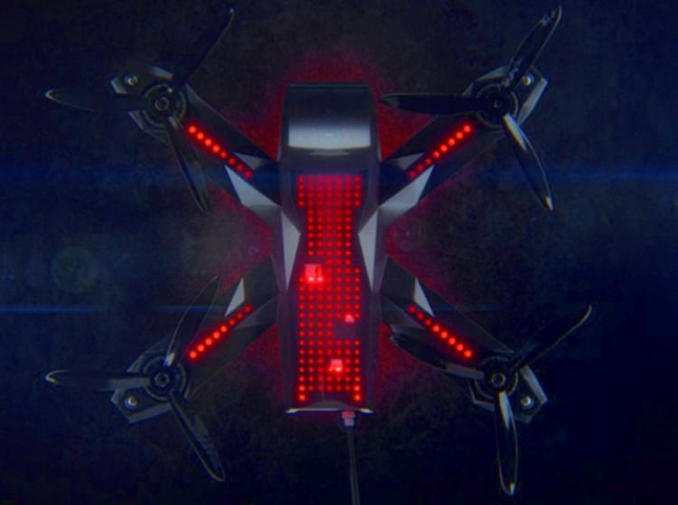 Racer3 – новинка от Drone Racing League
