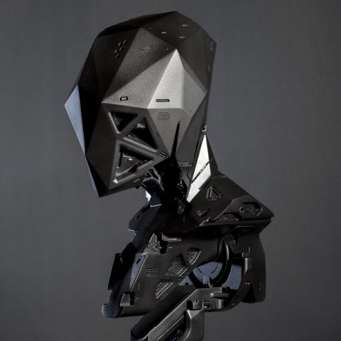 Разработанный дизайнером киборг стал реальностью с помощью 3D-печати