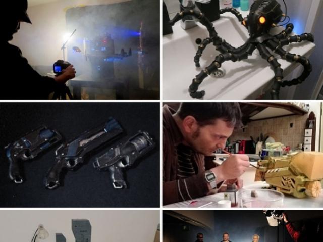 Режиссёр из Эстонии создаёт 3D-печатных осьминогов для фантастической короткометражки