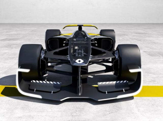 Renault презентовала 3D-печатный гоночный автомобиль