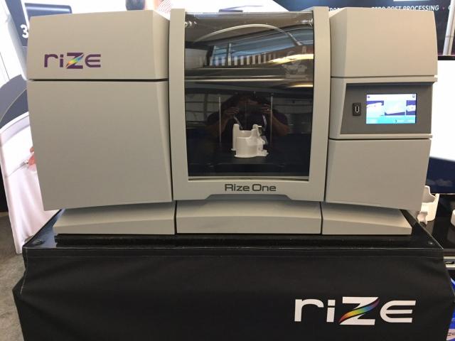 Rize 3D начала поставки уникальных гибридных 3D-принтеров