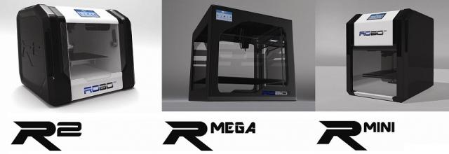 ROBO 3D представляет новую линейку 3D-принтеров с технологией цветной печати