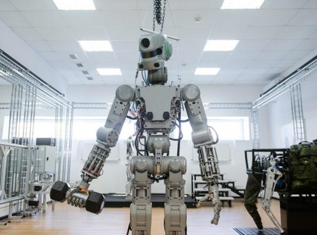 Робот Федор стал звездой западных СМИ