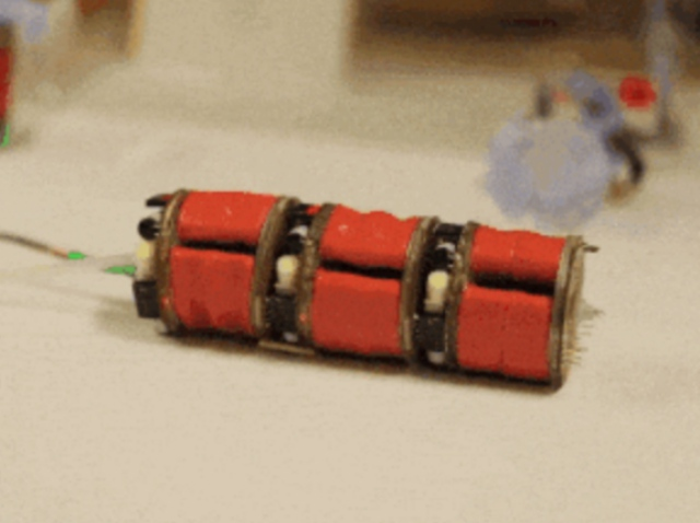 Робот-гусеница для медицинских целей