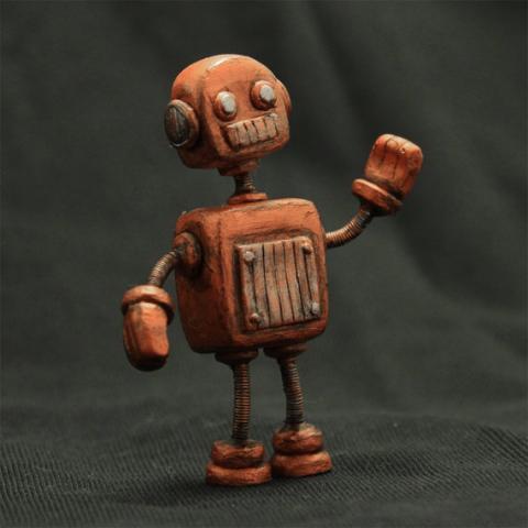 Робот, который может передвигать вес в две тысячи раз больше собственного!