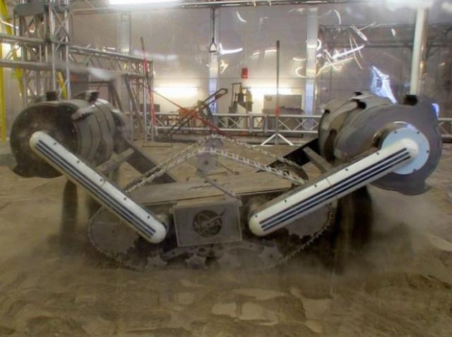 Робот NASA будет добывать полезные ископаемые на Марсе