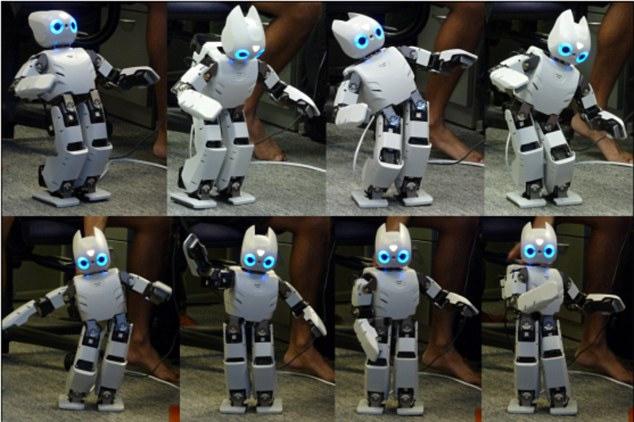 Робот научился балансировать благодаря нейросетям